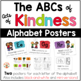 Kindness Posters - The ABCs of Acts of Kindness