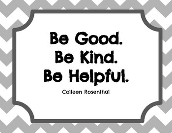 Kindness Posters for your classroom  or school decor.