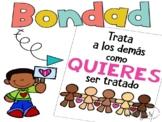Kindness Posters in Spanish - Posters de bondad