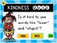 Kindness PowerPoint Quiz for Character Education