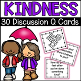Kindness Discussion Question Task Cards