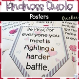 Kindness Quotes Free Classroom Decor