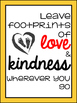 Kindness Quote Posters for Positive Behavior and Inspiration