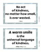 KINDNESS QUOTES for Bulletin Boards + FRIENDSHIP Quotes | Character Education