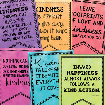 Kindness Quotes (Bulletin Boards, Character Ed, Class ...