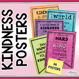 CLASSROOM COMMUNITY: 36 Kindness Posters to Foster Inclusi