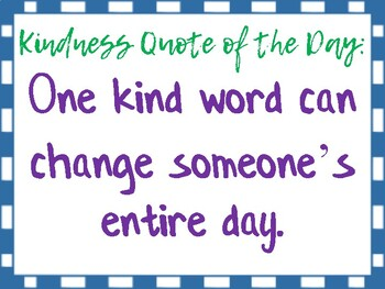 Color Of Kindness