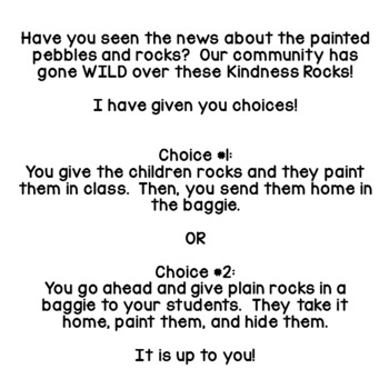 Kindness ROCKS  FREEBIE