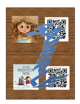 Kindness Read Aloud QR Code Cards