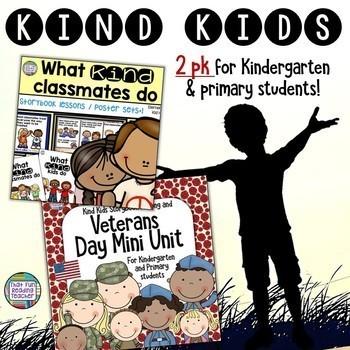 Kindness Resources - Kindergarten and Primary (U.S.)