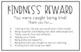 Kindness Reward / Kindness Fairy Reward Slip
