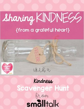 Kindness Scavenger Hunt Freebie