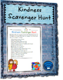 Kindness Scavenger Hunt (Pay it Forward) Template