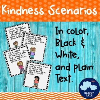 Kindness Scenarios