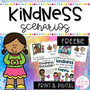 Kindness Scenarios FREEBIE