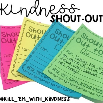 Kindness Shout-Outs