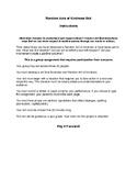 Kindness Skit Project/Activity