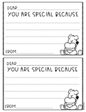 Kindness Station You Are Special Nice Note Freebie