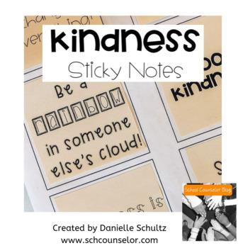 Kindness Sticky Notes - Kindness Locker messages, Random Acts of Kindness