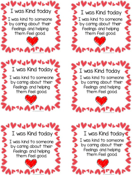 Kindness Tag