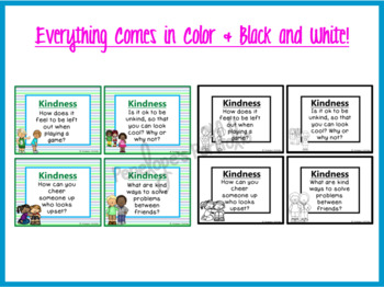 Kindness Task Cards - Character Education