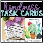 Kindness Task Cards {Editable}