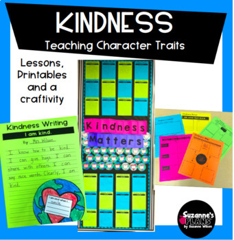 Kindness Teaching Good Character Education Traits