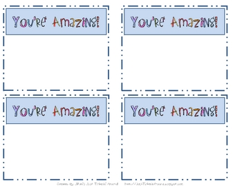"""""""Kindness"""" & """"Thank You"""" Printable Cards and Notes!"""