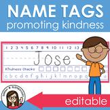 Name Tags for Desks (Editable)