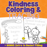 KINDNESS COLORING PAGES & ALPHABET TRACING -Kindness Activ