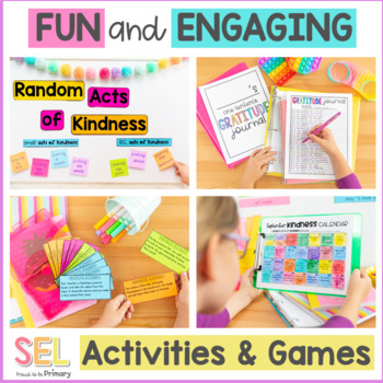 Kindness Unit - 3-5 Social Emotional Learning & Character Education