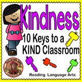 Kindness Unit - Posters, Reading Responses and Acts of Kindness Classbook