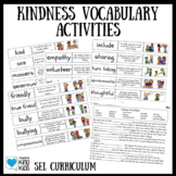 Kindness Vocabulary Activities for Social Emotional Learning