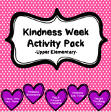 Kindness Week Activity Pack-Upper Elementary