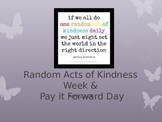 Kindness Week Powerpoint