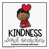 Kindness Word Search Set