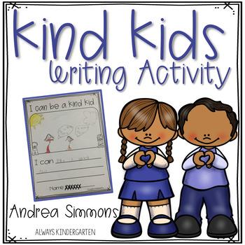 Kindness Writing Activity
