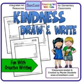 Kindness Writing Draw and Write #kindnessnation