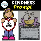 Kindness Writing Prompt