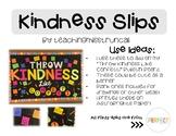 Kindness Writing Slips