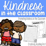 Kindness Writing and Bulletin Board Materials
