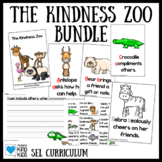 Kindness Zoo Animals Alphabet Emergent Reader, Writing and