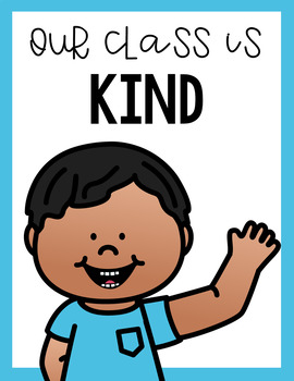 Kindness and Manners Poster Set