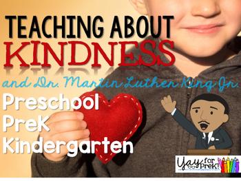 Kindness and Martin Luther King Jr. {preschool, prek, and kindergarten}