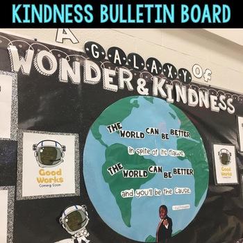 Kindness and Wonder Bulletin Board