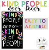 Kindness back to school bulletin board or door decor