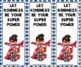 Let Kindness Be Your Super Power bookmarks