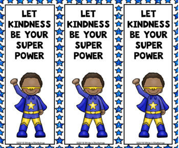 FREE Kindness and Diversity Bookmarks