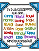 """Kindness in the Classroom Posters (Set of 3) - """"Framed"""" and Colorful"""
