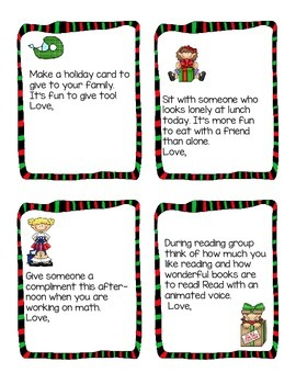 Kindness in the Classroom for the Holidays